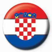 Odznaka Flag - Croatia
