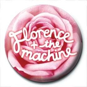 Odznaka FLORENCE & THE MACHINE - rose logo