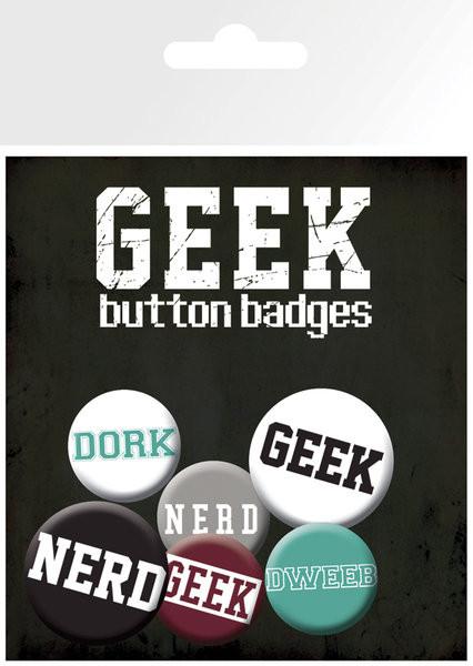 Odznaka GEEKS & NERDS