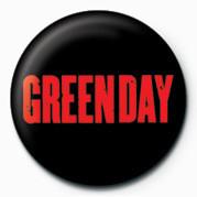 Odznaka GREEN DAY - RED LOGO