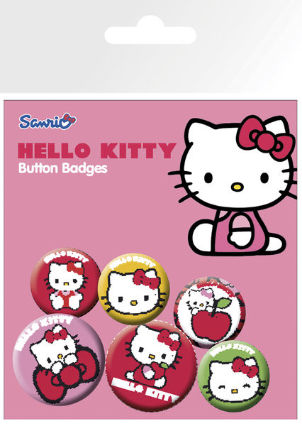 Odznaka Hello Kitty – Classic