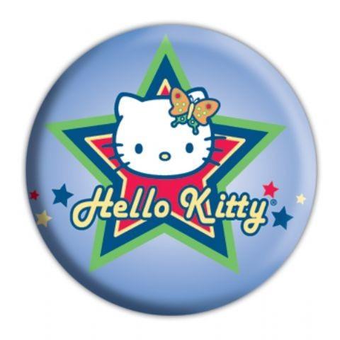 Odznaka HELLO KITTY