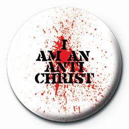 Odznaka I AM AN ANTICHRIST