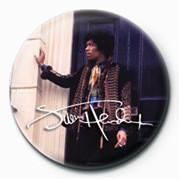 Odznaka Jimi Hendrix plakietka (przy drzwiach)