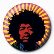 Odznaka Jimi Hendrix plakietka (psychodeliczna)
