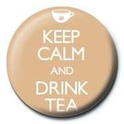 Odznaka KEEP CALM & DRINK TEA