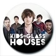 Odznaka KIDS IN GLASS HOUSES - band