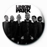 Odznaka LINKIN PARK - group bw