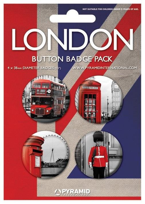 Odznaka LONDON - photos