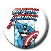 Odznaka MARVEL - captain america