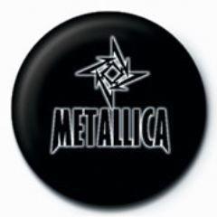 Odznaka METALLICA - small star GB