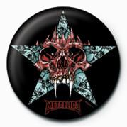 Odznaka METALLICA - STAR