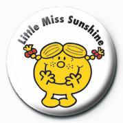 Odznaka MR MEN (Little Miss Sunshi