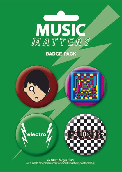 Odznaka MUSIC MATTERS