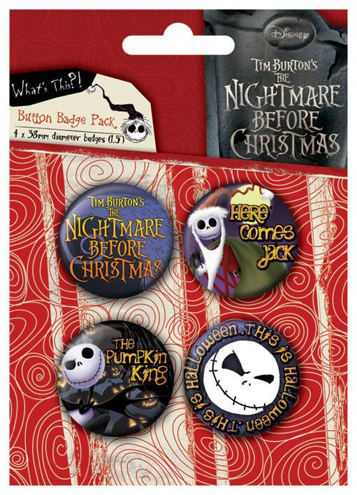 Odznaka NIGHTMARE - Jack