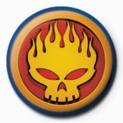 Odznaka OFFSPRING - FLAME  HEAD