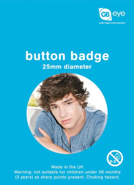 Odznaka One Direction - Liam