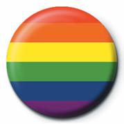 Odznaka PRIDE - FLAG