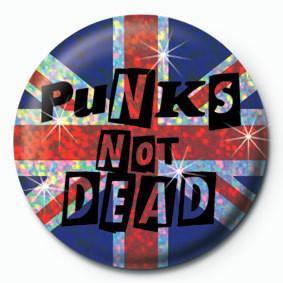 Odznaka PUNK'S NOT DEAD