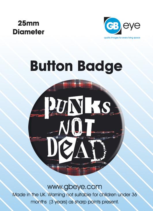 Odznaka PUNKS NOT DEAD