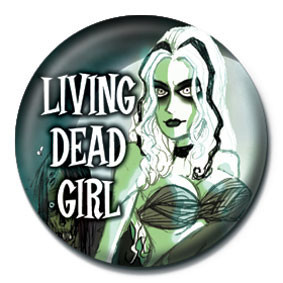 Odznaka ROB ZOMBIE - living dead girl