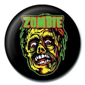Odznaka ROB ZOMBIE - zombie face