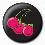 Odznaka SMILEY - CHERRIES