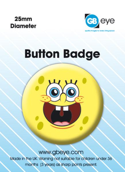 Odznaka Spongebob Happy