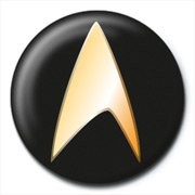Odznaka STAR TREK - black