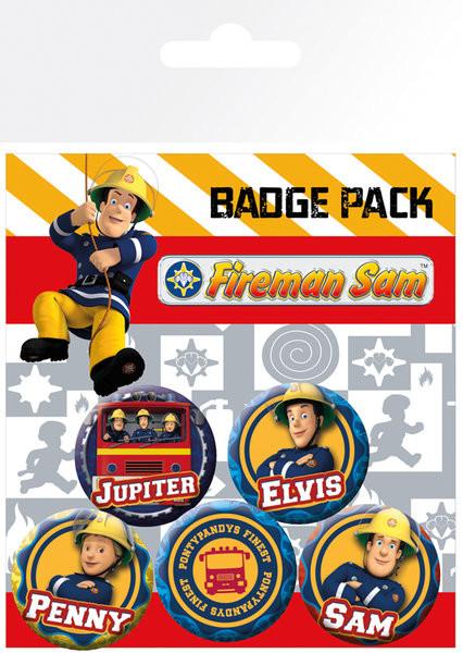 Odznaka Strażak Sam - Heroes