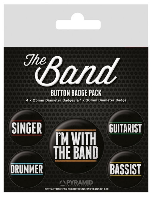 Odznaka The Band