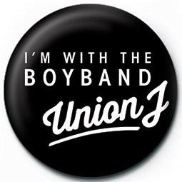 Odznaka UNION J - i'm with the boyband