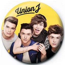 Odznaka UNION J - yellow