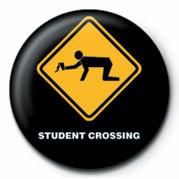 Odznaka WARNING SIGN - STUDENT CRO