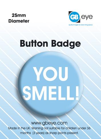 Odznaka You Smell
