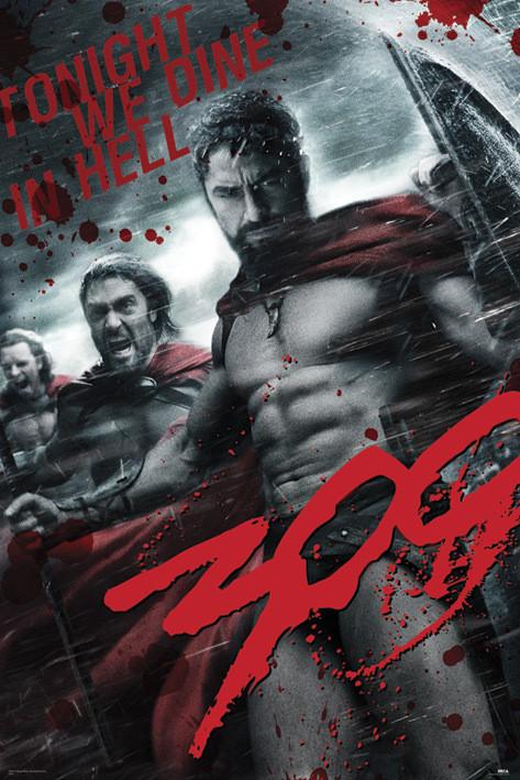 Plakat 300 - grey