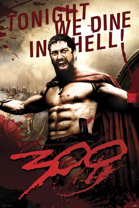 Plakat 300 - Leonidas