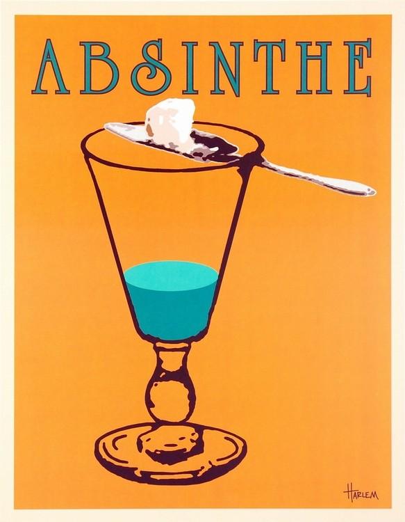 Reprodukcja Absinthe