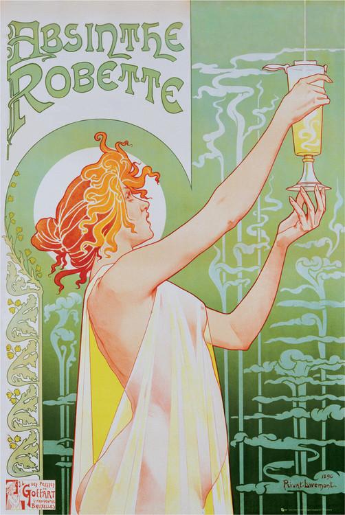 Plakat Absinthe Robette