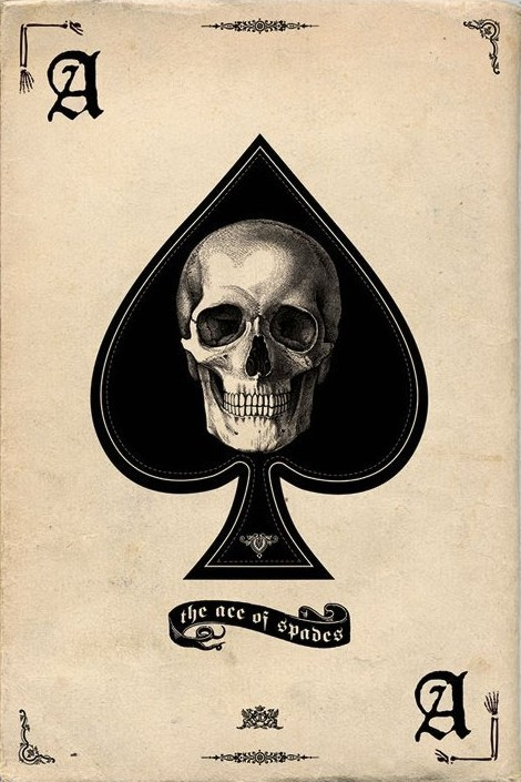 Plakat Ace of Spades