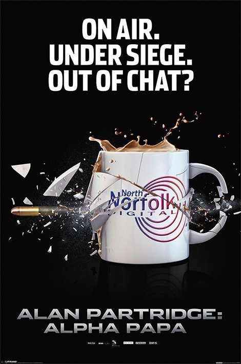 Plakat ALAN PARTRIDGE - exploding mug