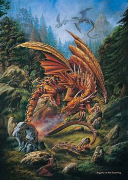 Plakat Alchemy – dragons