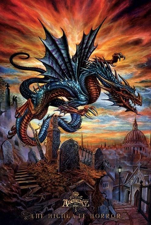 Plakat Alchemy - the highgate horror