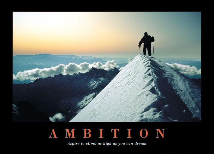 Plakat Ambition