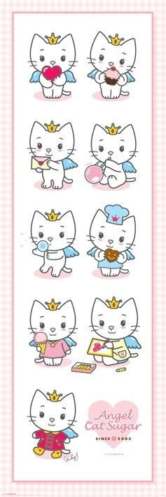 Plakat ANGEL CAT SUGAR - multi