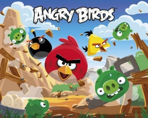 Plakat Angry Birds