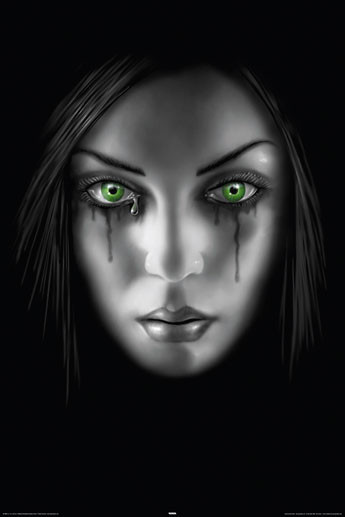Plakat ANNE STOKES - sad face