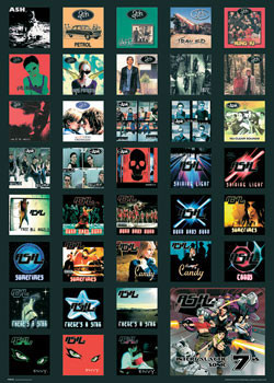 Plakat ASH - covers