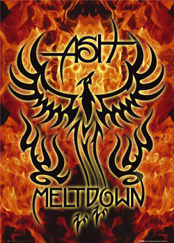 Plakat ASH - meltdown