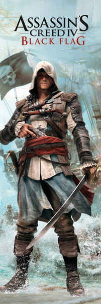 Plakat Assassin's Creed 4 - black flag